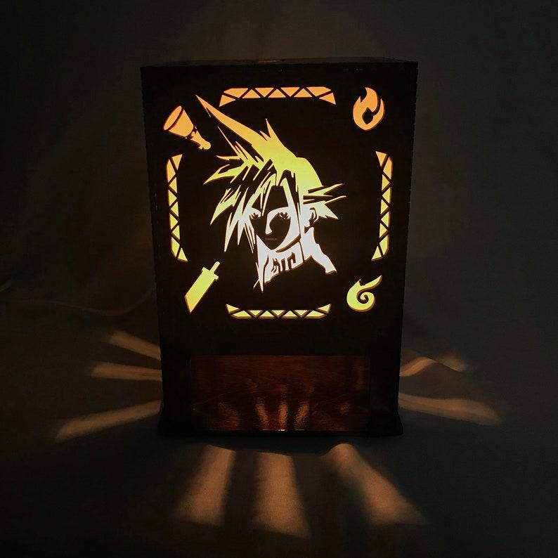 Final Fantasy 7 Lasercut Lamp image 0
