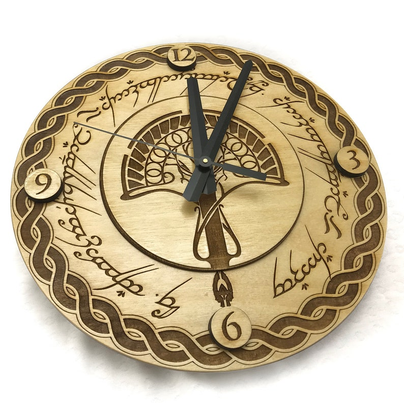 Lord of the Rings Wall Clock image 0