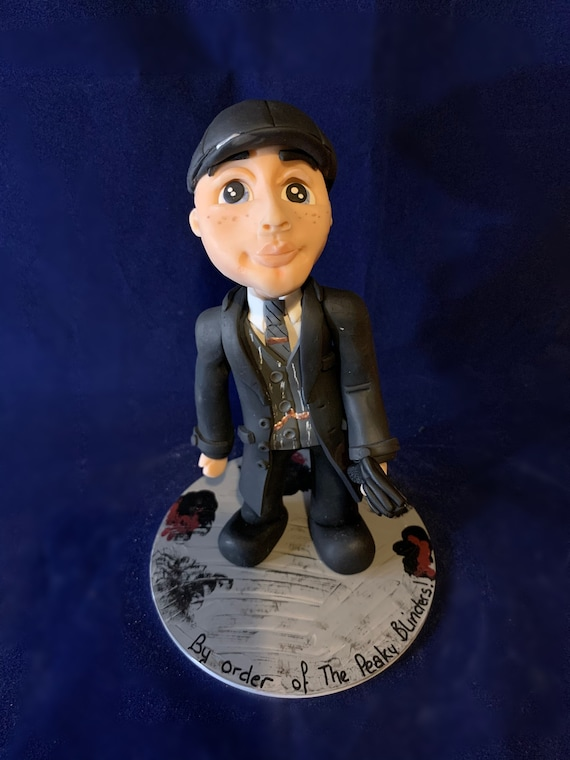 Peaky Blinders / Tommy Shelby - Clay Statue/Figure - Birthday Gift