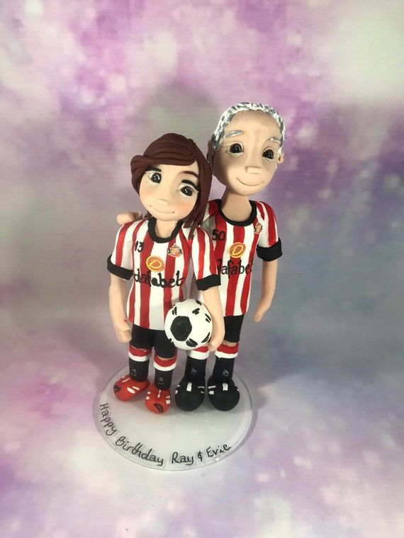 Personalised Wedding Cake Topper - Football/Sport