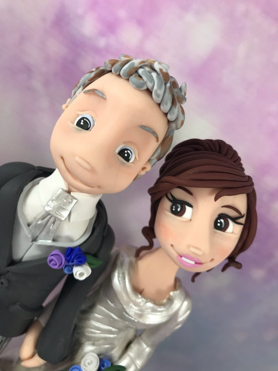 Personalised Wedding Cake Topper- Bride and Groom/same sex wedding