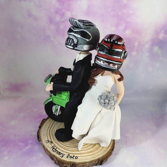 Personalised Wedding cake toppers - hand sculpted bride and groom/same sex couple - amazing wedding gifts