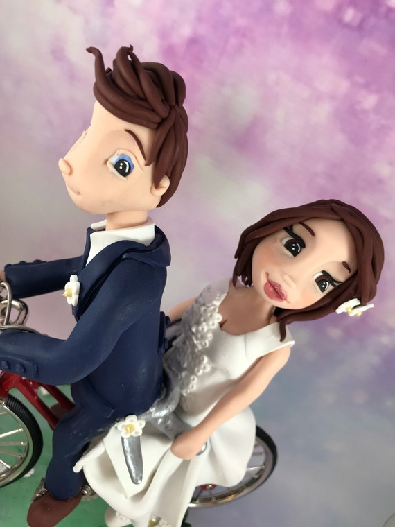 Wedding Cake Topper - Bike/Tandem