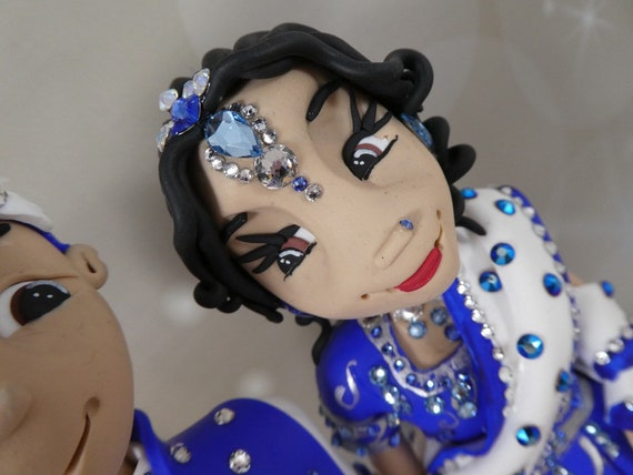 Personalised Asian/Indian Wedding cake topper
