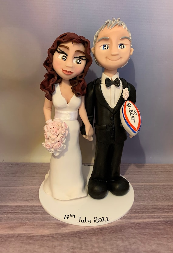 Wedding Cake Topper - Rugby/Sport