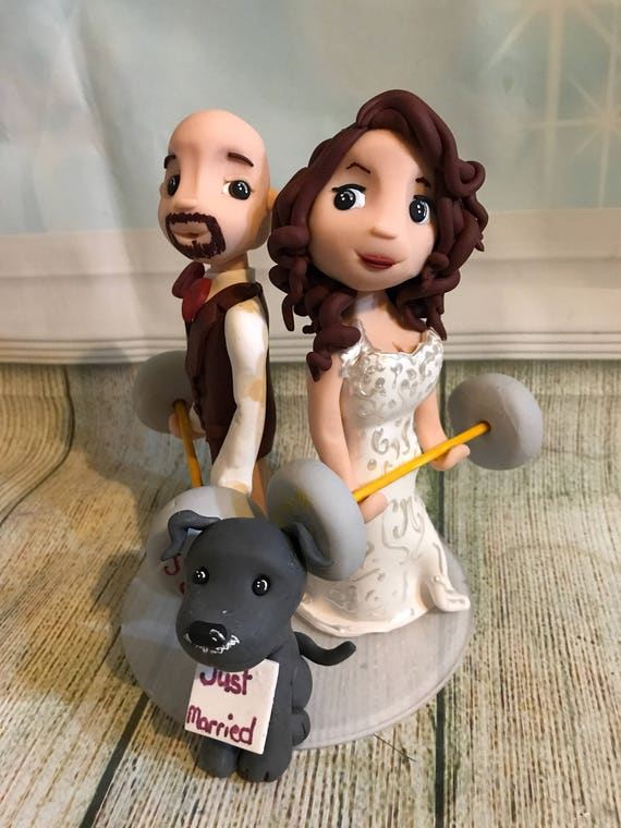 Wedding Cake Topper - weights