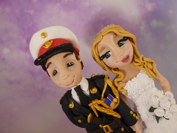 Wedding Cake Topper - military/forces