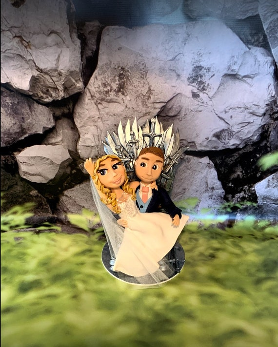 Game of Thrones Wedding Cake Topper