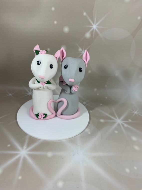 Wedding cake Topper - rats/mice/ any animal