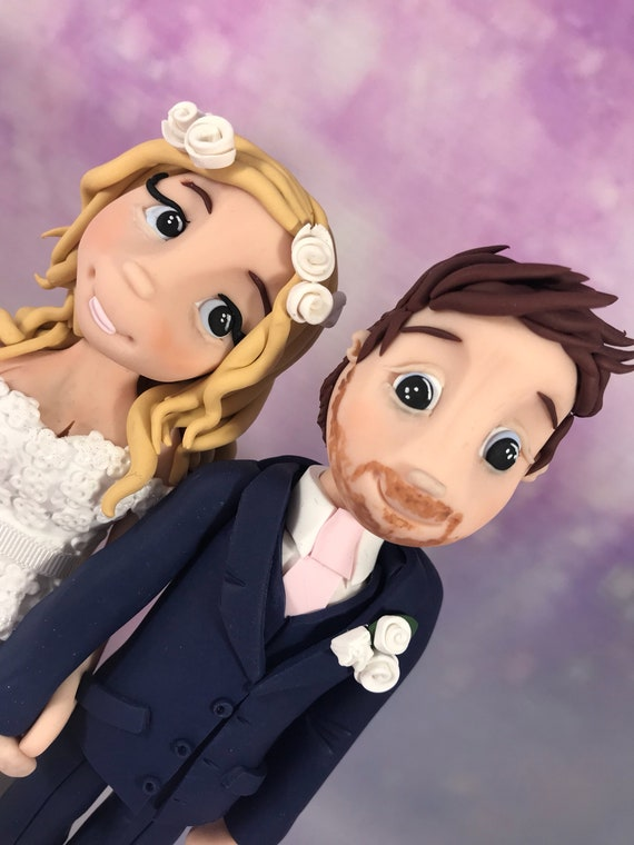 Personalised Wedding Cake Topper - bride and groom/same sex couple