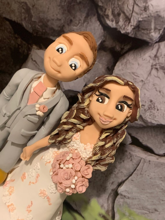 Personalised Wedding Cake Topper - bride and groom / same sex couple