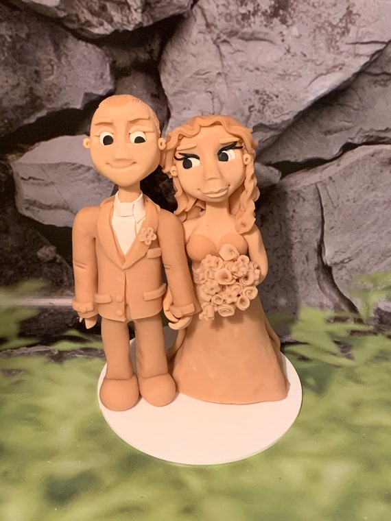 DIY Wedding Cake Topper - Paint your own personalised Couple / Bride and groom/ Same Sex Couple