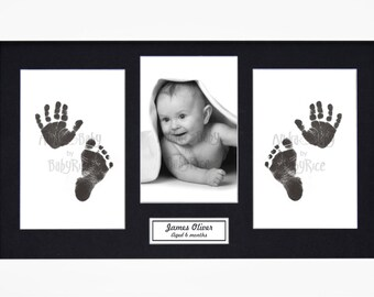Footprint Frame Etsy