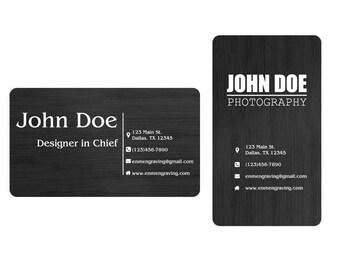 matt black metal business card wallet message card invitation event card laser engraved aluminum pack of 1 10 20 or 50 - Business Card Wallet