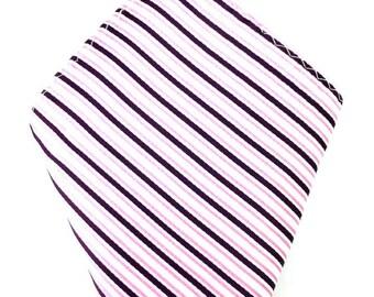 Mens Pocket Square. Pink striped Handkerchief.Formal Suit .Pocket squares. Hanky. Tuxedo Tie Necktie Pocket Square.
