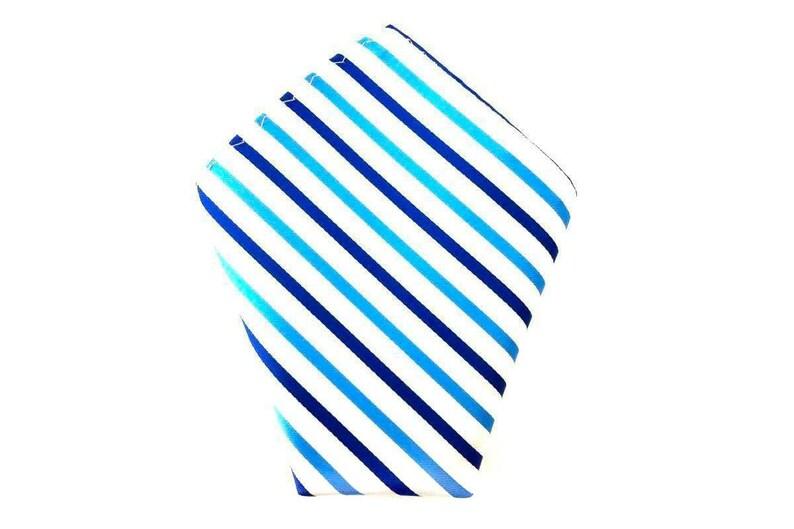 White Stripes Wedding Hankies for Men Groomsmen Blue Striped Hanky Trendy Hankies Men/'s Pocket Square Blue and White Stripes Handkerchief