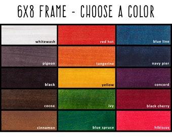 6x8 Frames Etsy