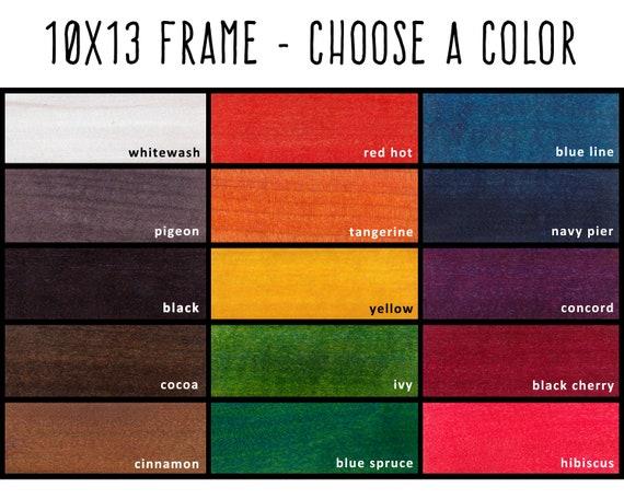 10x13 Frame Custom Frame 10x13 Picture Frame Etsy