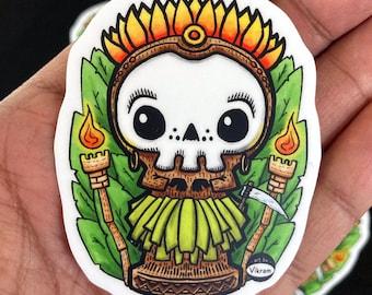 Tiki Reaper - Fun Lil' Reaper Vinyl Sticker