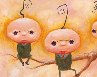 Brotherhood of the Single Strand - Fun Weird Print