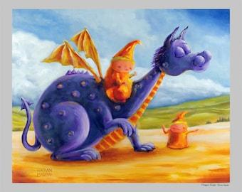 Dragon Rider - Fun Print