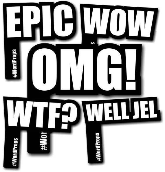 Epic #wordprops