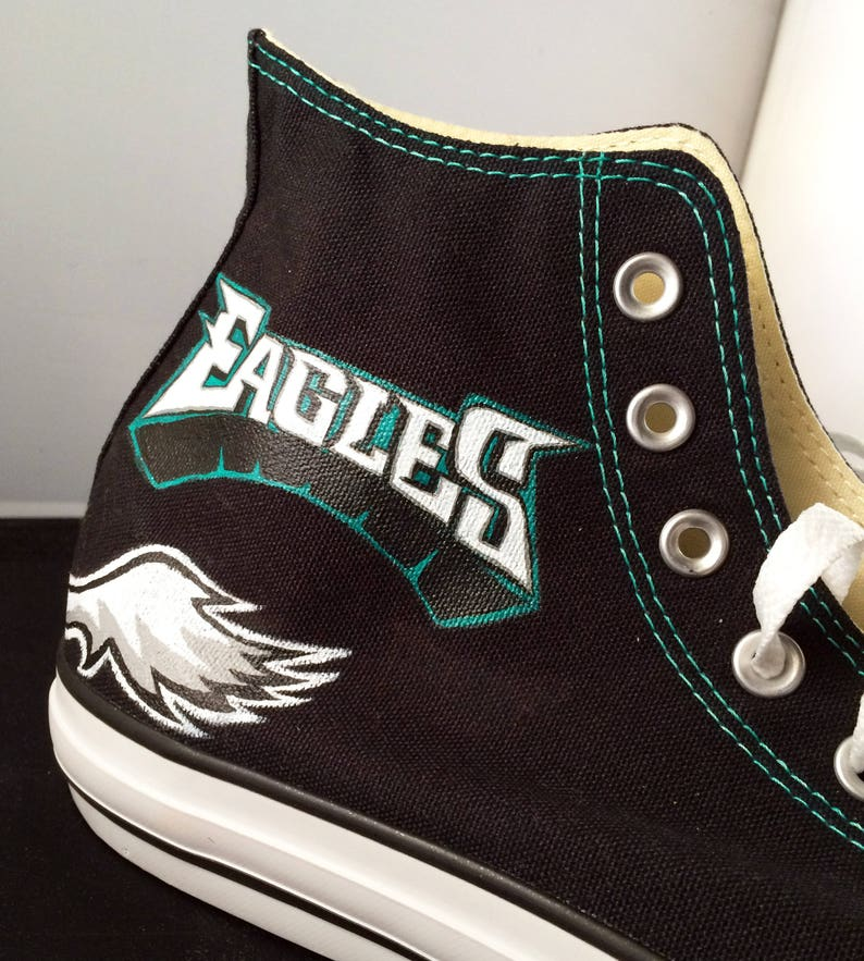 14579fad6336 Handpainted Custom Converse Shoes ADULTS Philadelphia
