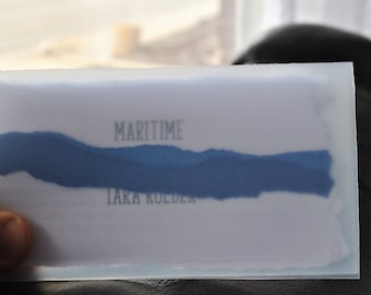 Maritime by Tara Roeder (Poetry Chapbook by Bitterzoet Press)