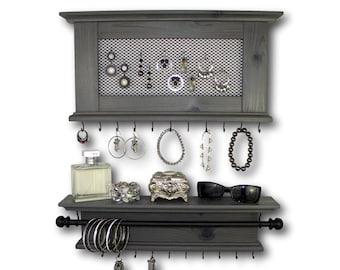 Jewelry Organizer Set Necklace Earring Bracelet Holder