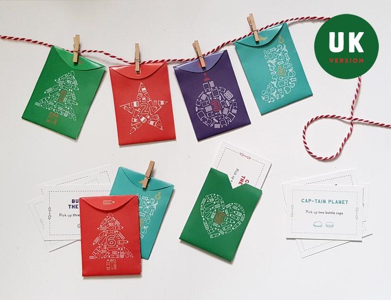 Litter Pick Printable Advent Calendar  UK Version  24 litter image 0