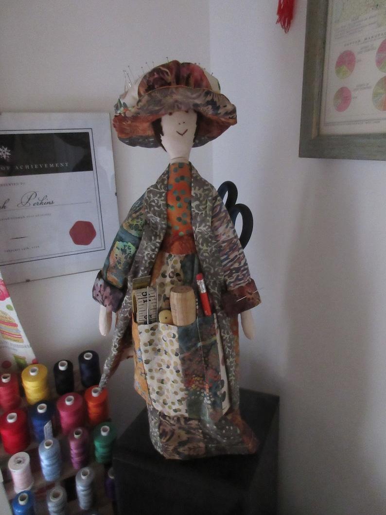 Doll sewing organiser pattern image 0