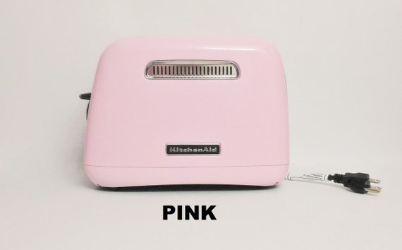 Pink KitchenAid Toaster, Pink Wide Slot Kitchen Aid Toaster , Shabby Chic  Pink Kitchen, Pink Toaster, KitchenAid Appliances, Bagel Toaster