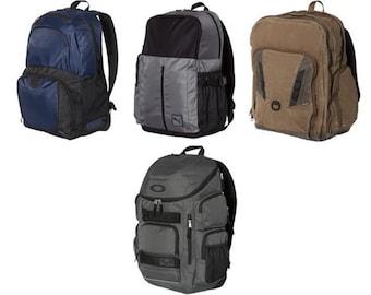 Back Pack Backpack Travel Pack Monogrammed Pack Dri Duck Oakley