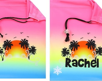 c680b333490f Beach Sunset Gymnastics Grip Bag - Can be personalized