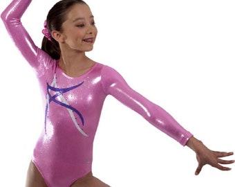 a60d96fc9755 Adult Small Blue Libre Gymnastics Competition Leotard