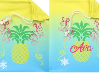 b44af8c241d5 Pineapple Gymnastics Grip Bag - Can be personalized