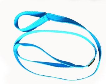 "Pet Dog Slip/Choke Lead Leash Soft Cushion Web 19mm (3/4"") wide 1.5mts long"