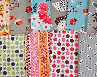 Flea Market Fancy by Denyse Schmidt destash quilt cotton fabric 13 fat quarter bundle favorites!