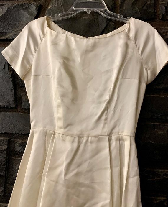 50s vintage wedding dress