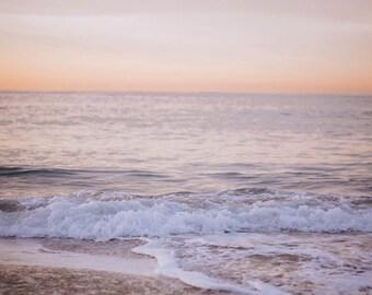 waves at sunrise in pretty morning light in laguna // 8x10 5x7 Teri B photography // fine art print // california dreaming