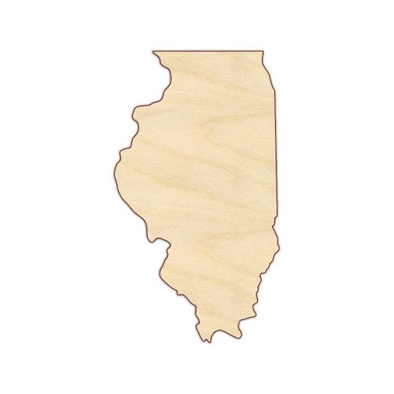 Georgia US State Laser Cut Wood Shape