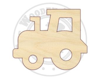 Tractor - Tractor Nursery - Tractor Door Hanger - Tractor Birthday - Tractor Decor - Nursery Decor - Wood Tractor - Tractor Shape - 170101