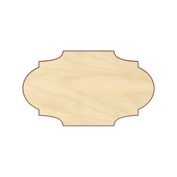 Unfinished Wood Plaque Wooden Plaque Wood Plaque Wood Blank Wood Crafts Unfinished 170111