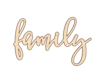Family - Family Sign - Family Wood Sign - 160175