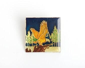 Eagle pin etsy