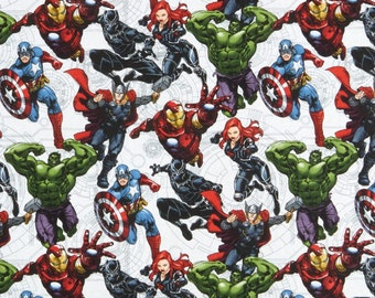 Springs Creative Fabrics Avengers Unite, Sold by the 1/2 Yard