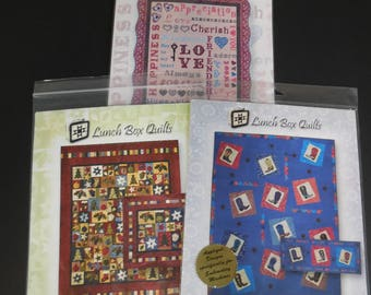 Lunch Box Quilts Embroidery Design CDs and Patterns