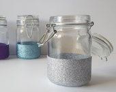 Glitter Mason Jars - Glit...