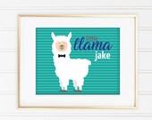 Llama Sign - Printable Si...