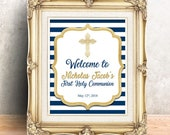 First Communion Sign - Pr...
